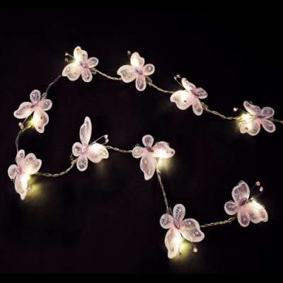 butterfly fairy lights LED
