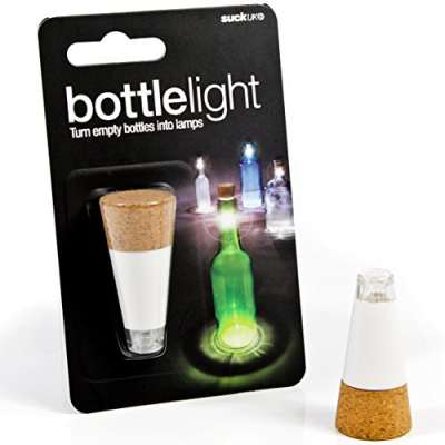 LED light up cork for wine bottle