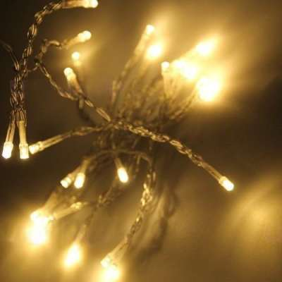 battery operated warm white led string lights