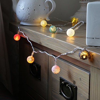 indoor fairylights battery operated lava balls