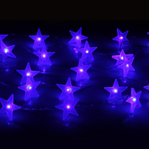 Innoo Tech**3M 30 Battery Operated Led Fairy Lights Five-pointed Star String Lights for ...