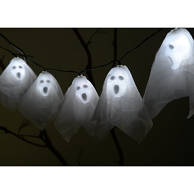10 Skull ghost battery operated fairy lights