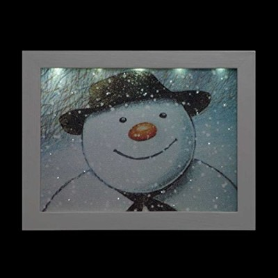 The snowman picture in LED frame